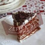 Шоколадно-медовый торт с маскарпоне