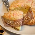 Яблочный пирог – рецепт с кокосовой глазурью