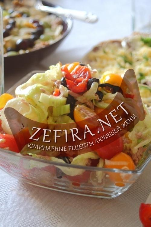 Салаты быстро и вкусно рецепты