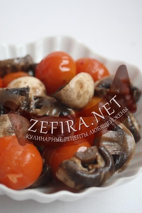 Заготовки из помидоров черри на зиму