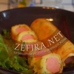 Реинкарнация классического рецепта сосиски в тесте — сосиска в картофеле и в лаваше