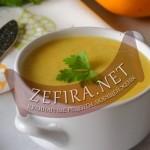 Суп-пюре из кабачков цуккини