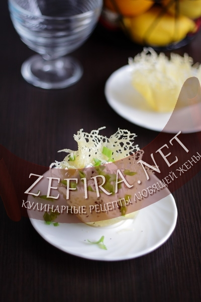 Сырные корзиночки для салата (фото)