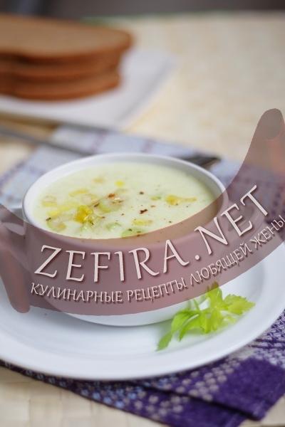 Картофельный суп-пюре (фото)
