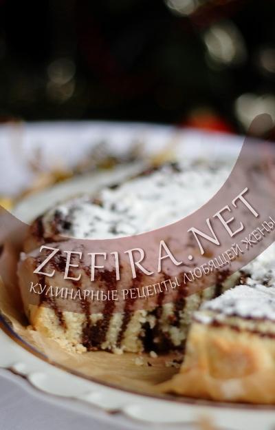 Фото пирога с маком в разрезе