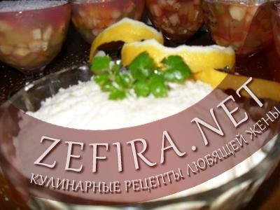 Постный салат из черной редьки (фото)