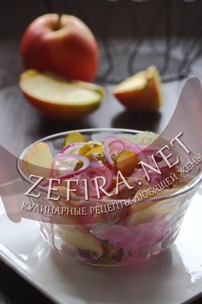 Салат с селедкой (фото)