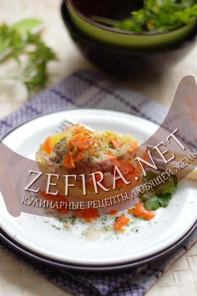 Фаршированная картошка (фото)