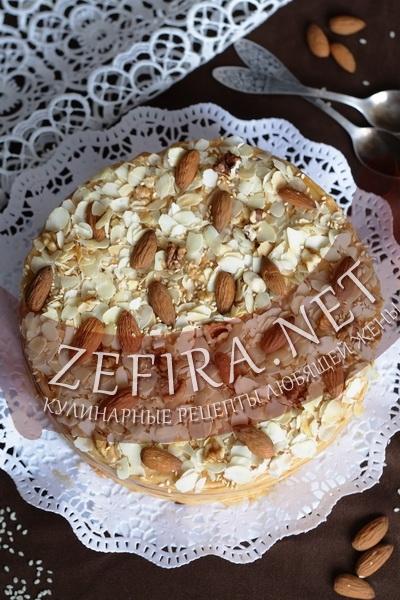 Торт с орехами (фото)