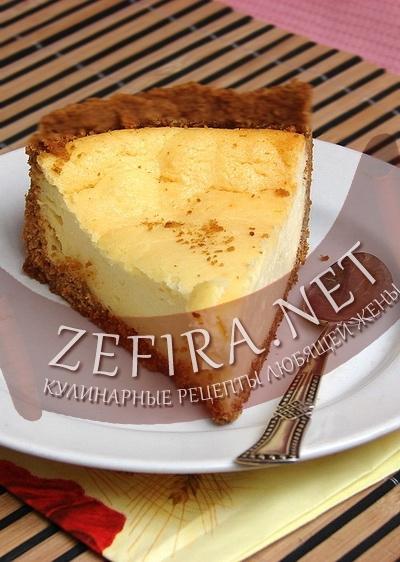 Пирог с творогом (фото)