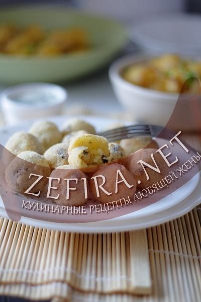 Рецепт картофельных крокетов (фото)