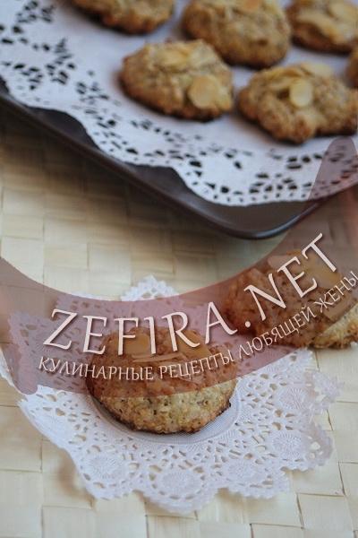 Домашнее овсяное печенье (фото)