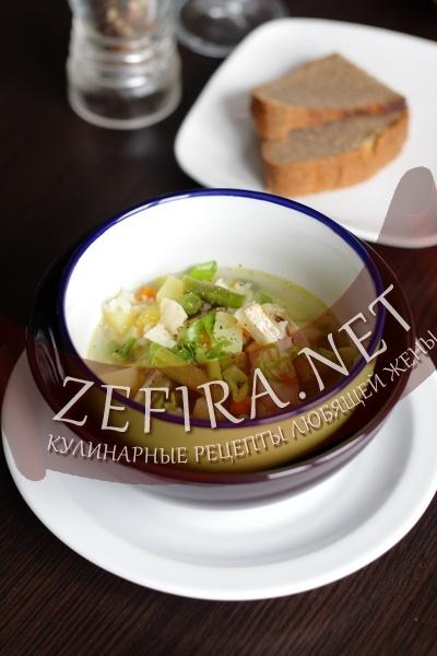 Рыбный суп с рисом (фото)