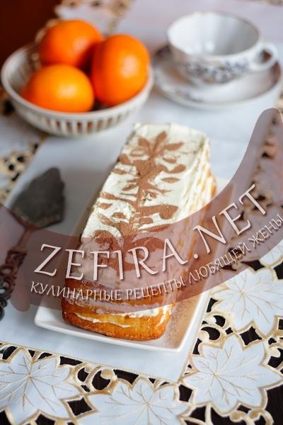 Апельсиновый торт (фото)