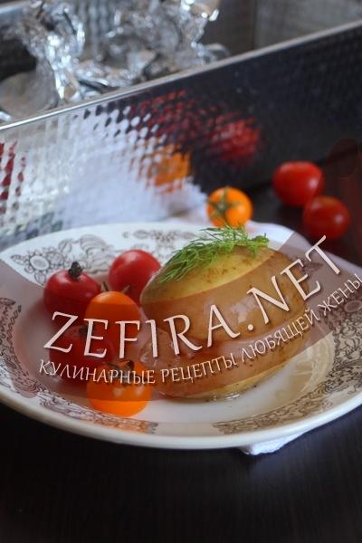 Картошка с салом (фото)