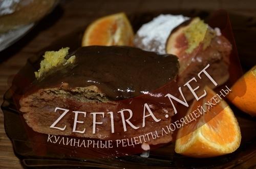 Пирог кофейный (фото)
