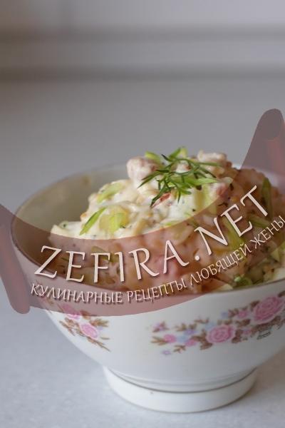 Салат из картофеля (фото)