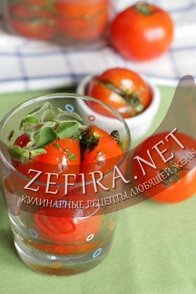 Маринованные помидоры (фото)