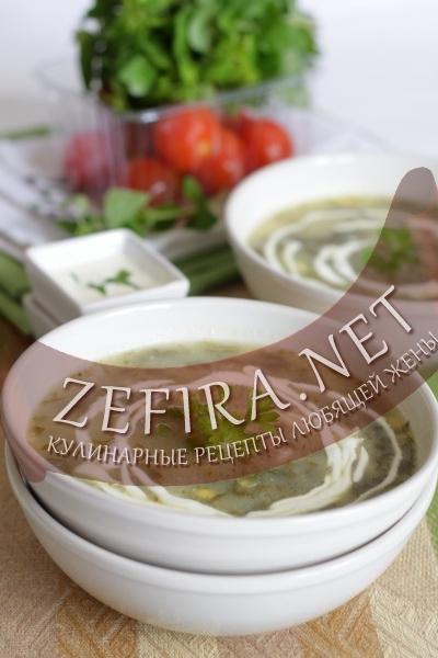 Рецепт щавелевого супа (фото)