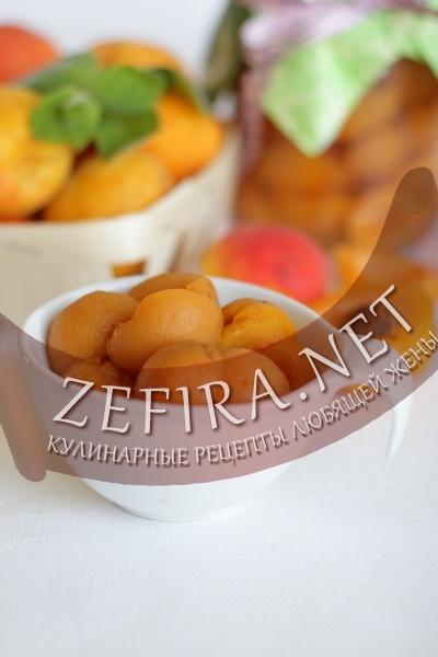 Консервированные абрикосы (фото)
