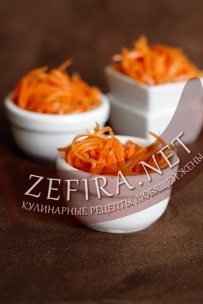 Маринованная морковь (фото)