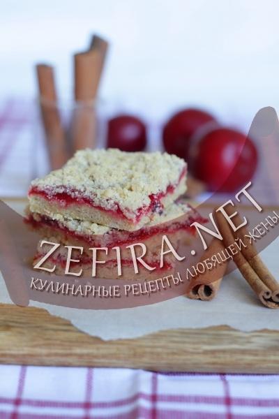 Пирог со сливой (фото)