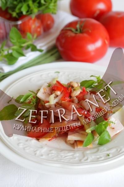 Овощной салат (фото)