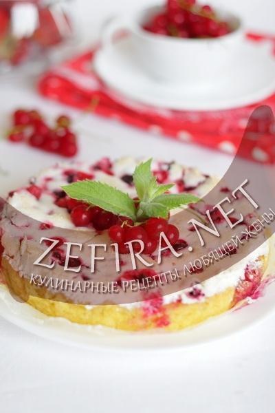 Рецепт пирога со смородиной (фото)