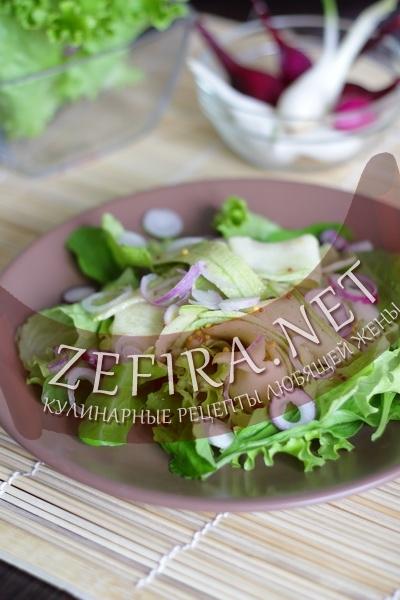 Салат из кабачков (фото)