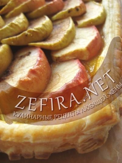 Французская яблочная ватрушка (рецепт)