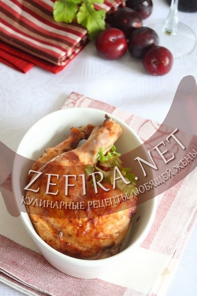 Курица в сладком соусе (фото)