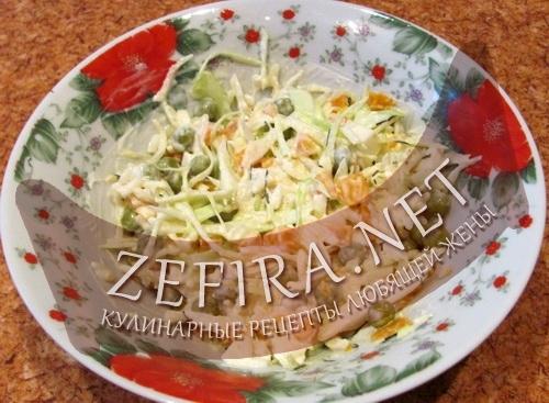 Рецепт салата Нежный (фото)