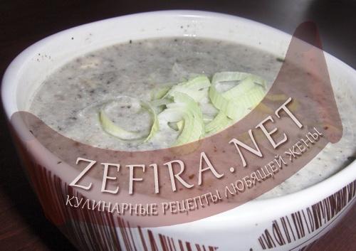 Рецепт супа-пюре (фото)