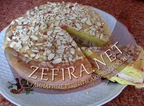 Торт а-ля Киевский (фото)