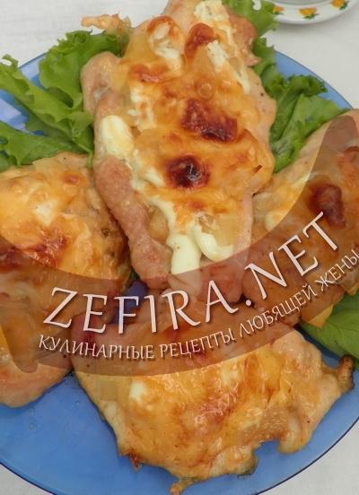 Филе с ананасами (фото)
