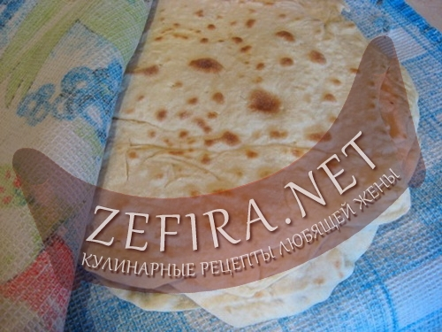 Рецепт армянского лаваша (фото)