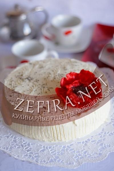 Маковый торт (рецепт с фото)