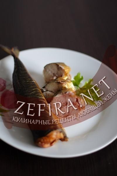 Домашняя копченая скумбрия - рецепт копченой рыбы