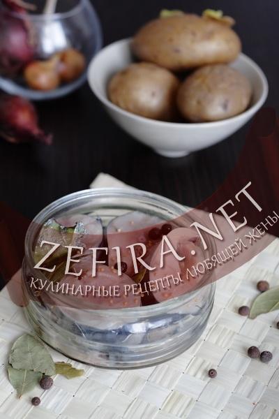 Соленая скумбрия - рецепт в домашних условиях