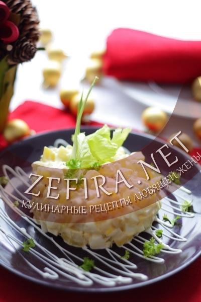 Польский картофельный салат