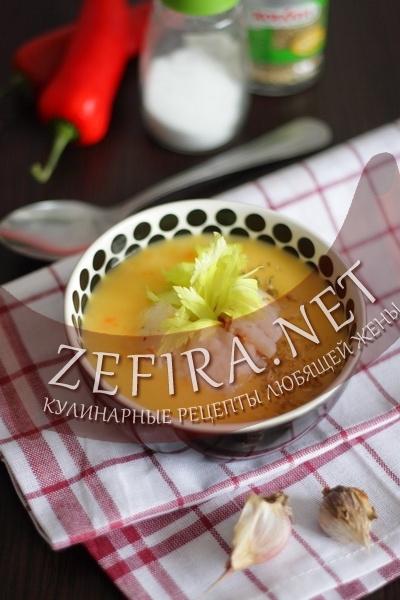 Овощной суп-пюре (фото)
