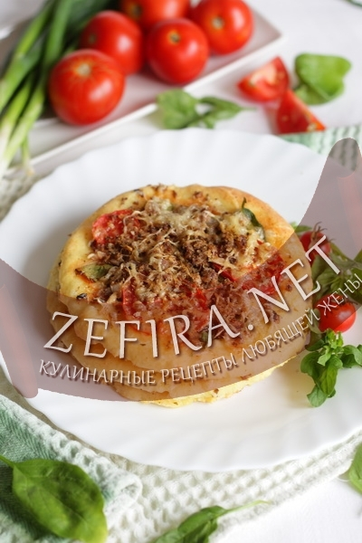 Домашние лепешки с сыром (фото)