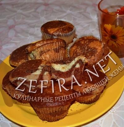 "Маффины ""Зебра"" (фото)"