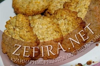Овсяное печенье с апельсиновым вкусом (фото)