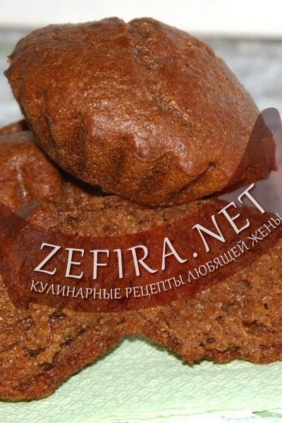 Шоколадные фруктовые кексы (фото)
