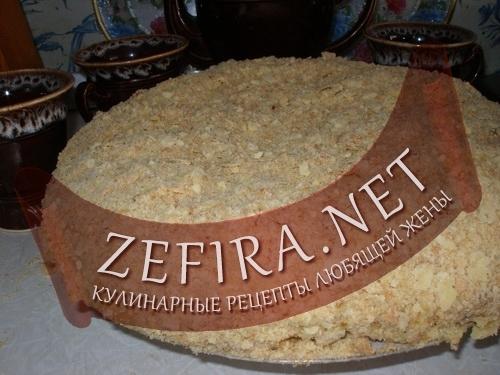 """Рецепт домашнего торта """"Наполеон"""" (фото)"""
