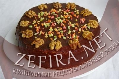 Торт с суфле (фото)
