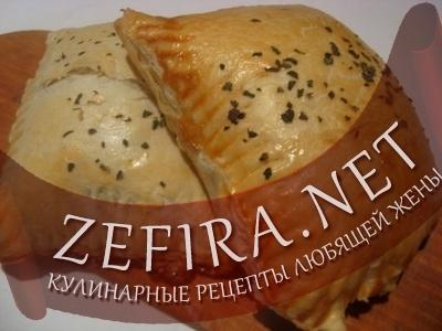 Простой рецепт закрытой пиццы (фото)