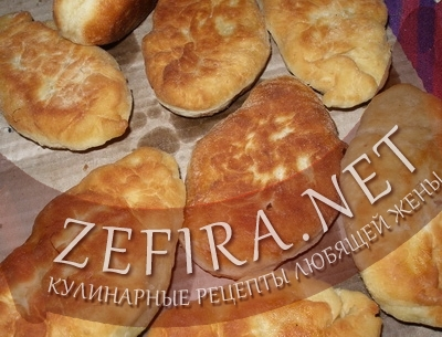 Жареные дрожжевые пирожки (фото)