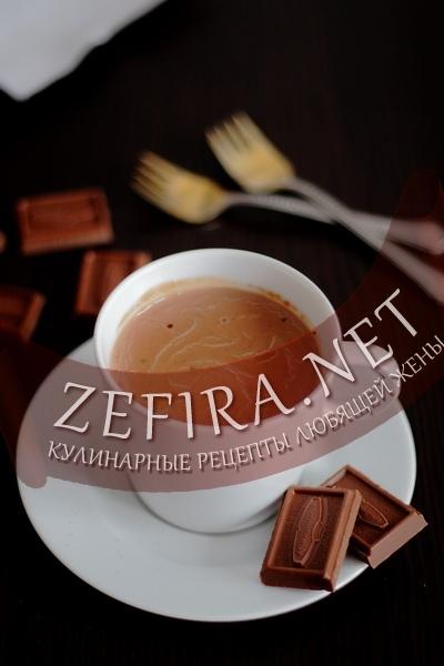 Домашний горячий шоколад (фото)